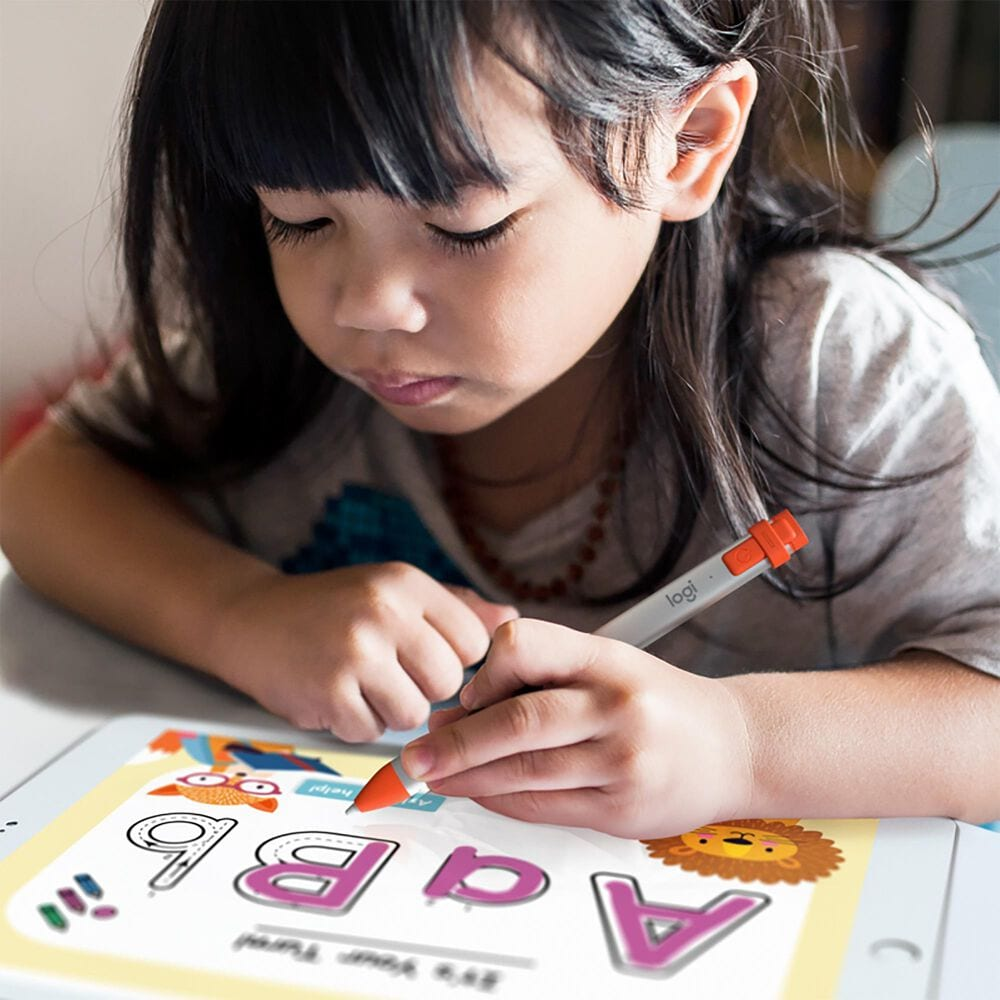 Logitech Crayon Pixel-Precise Digital Pencil for iPad in Orange, , large