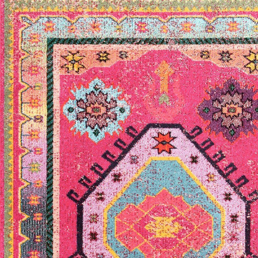 nuLOOM Bella KSBL03A 8' x 10' Pink Area Rug, , large