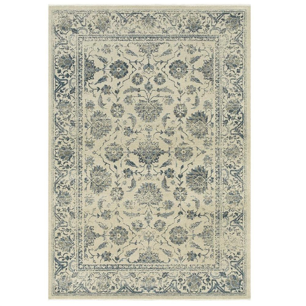 """Oriental Weavers Linden 7909A 3'10"""" x 5'5"""" Ivory Area Rug, , large"""