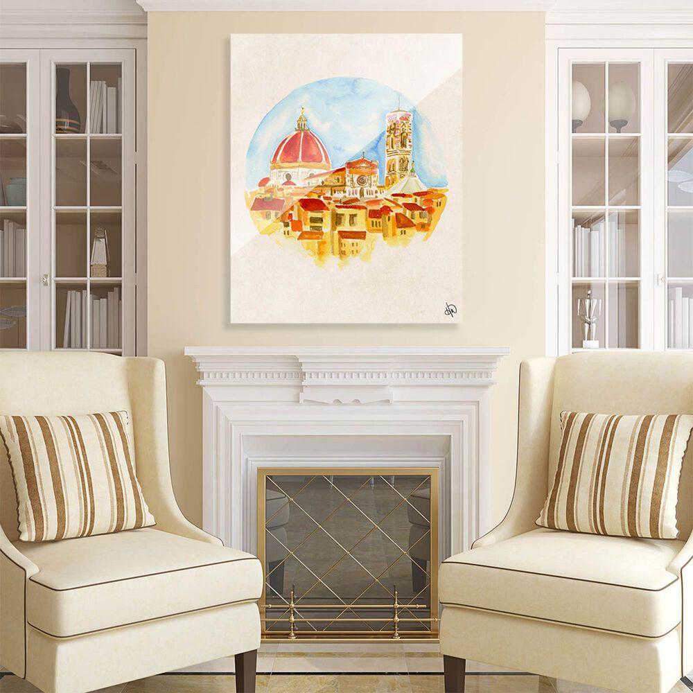 "Kathy Ireland Home ""Camera Con Vista"" 30"" x 20"" Acrylic Wall Art Print, , large"