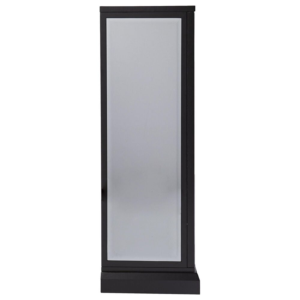 Southern Enterprises Trandling Alexa Smart Fireplace in Silver/Black/Mirror, , large