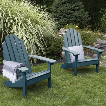 Highwood USA Classic Westport Adirondack Chair in Nantucket Blue (Set of 2), , large