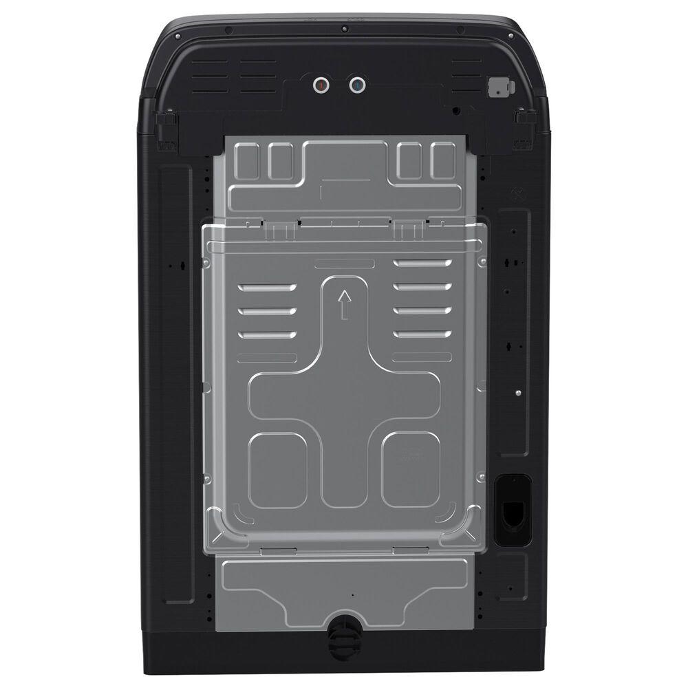 Samsung 5.5 Cu. Ft. Smart Top Load Impeller Washer and 7.4 Cu. Ft. Electric Dryer in Brushed Black, , large