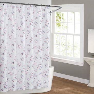Pem America Cottage Classics Rose Dusk Shower Curtain, , large