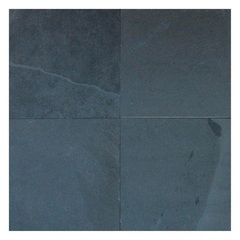 """MS International Montauk Black 12"""" x 24"""" Gauged Natural Stone Tile, , large"""