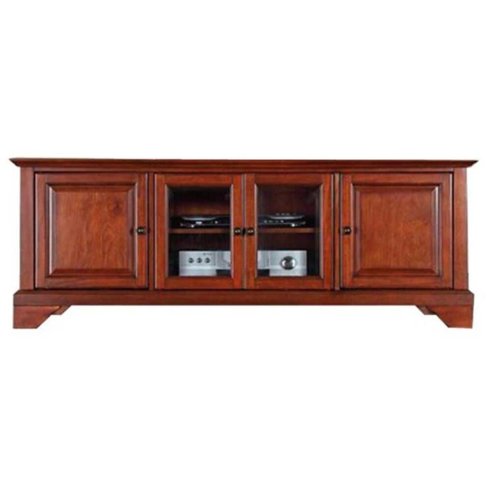 """Crosley Furniture LaFayette 60"""" Low Profile TV Stand in Classic Cherry, , large"""