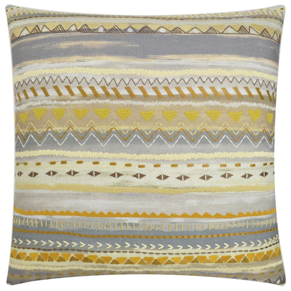 """D.V.Kap Inc 24"""" Feather Down Decorative Throw Pillow in Classic Charm, , large"""