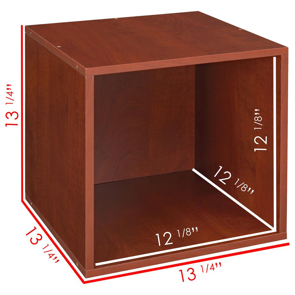Regency Global Sourcing Niche Cubo 6-Piece Storage Set in Cherry/White, , large
