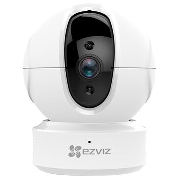 Ezviz C6CN 1080p Internet Pan Tilt Security Camera in White, , large