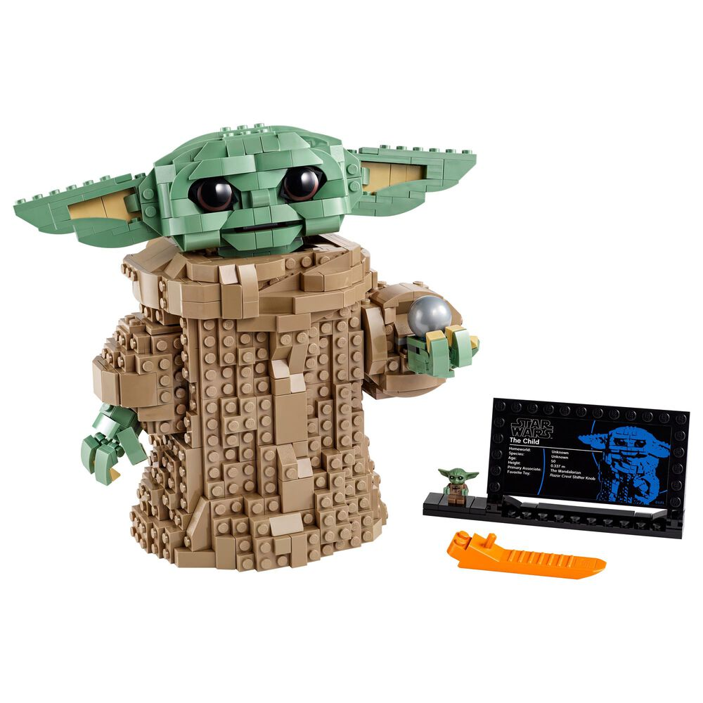 LEGO Star Wars: The Mandalorian The Child Collectible Buildable Toy, , large