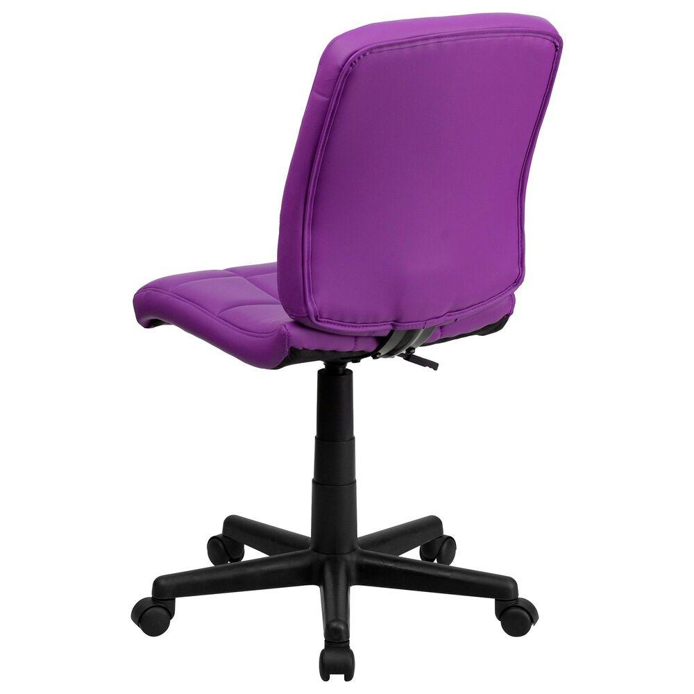 Flash Furniture Task Chair in Purple, , large