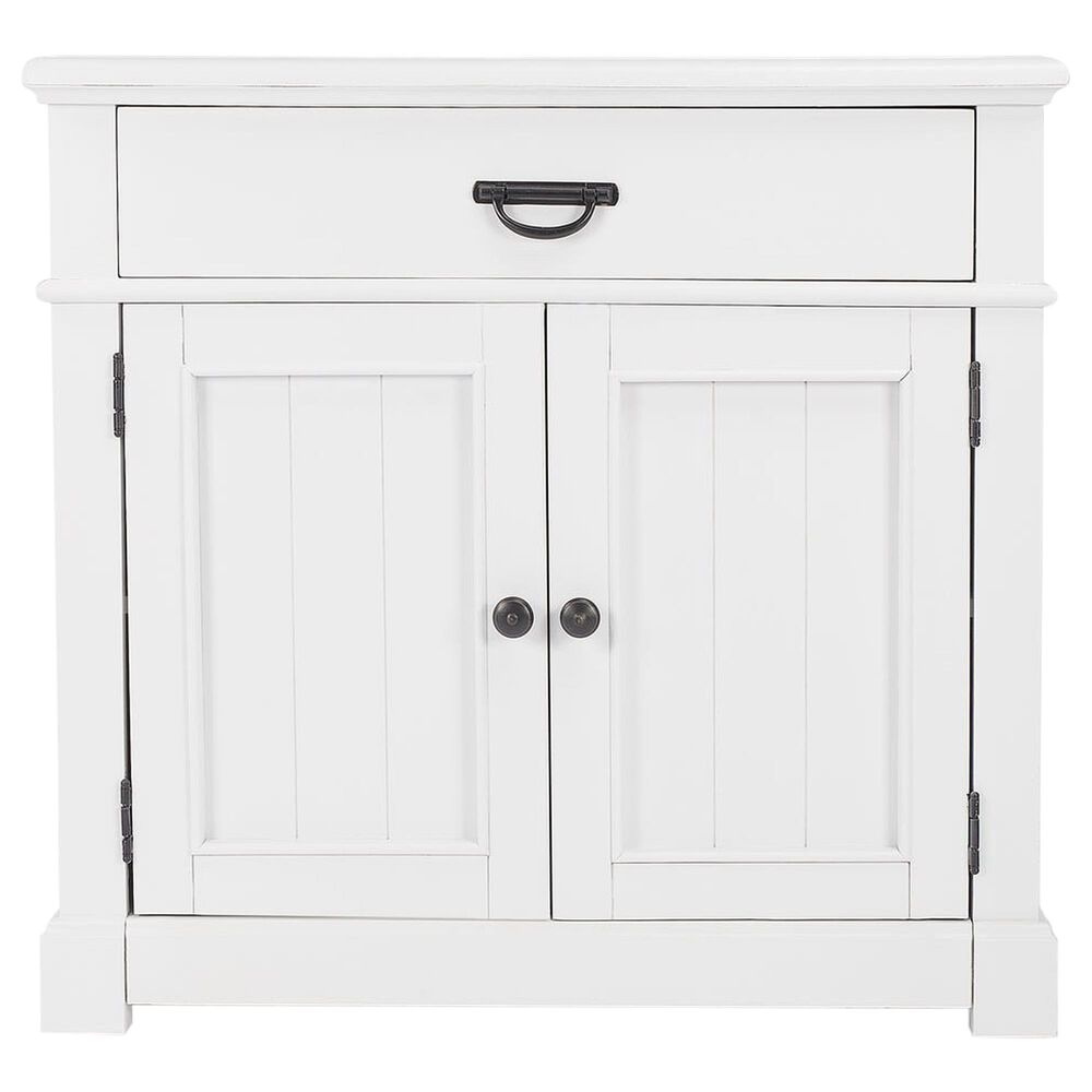 Butler Alek Storage Chest in Glossy White, , large