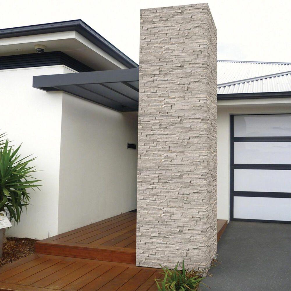 "MS International Ledger White Oak 6"" x 24"" Honed Natural Stone Tile, , large"