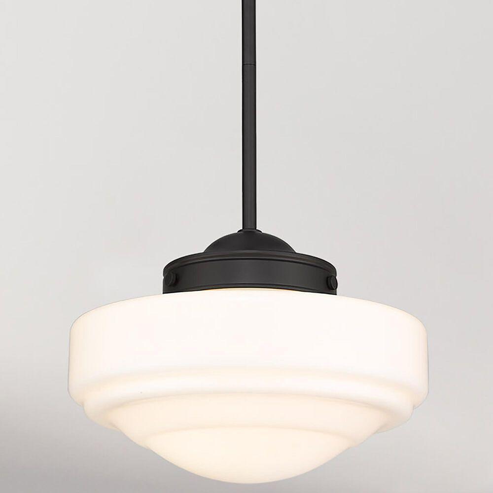 Golden Lighting Ingalls Medium Pendant in Matte Black, , large