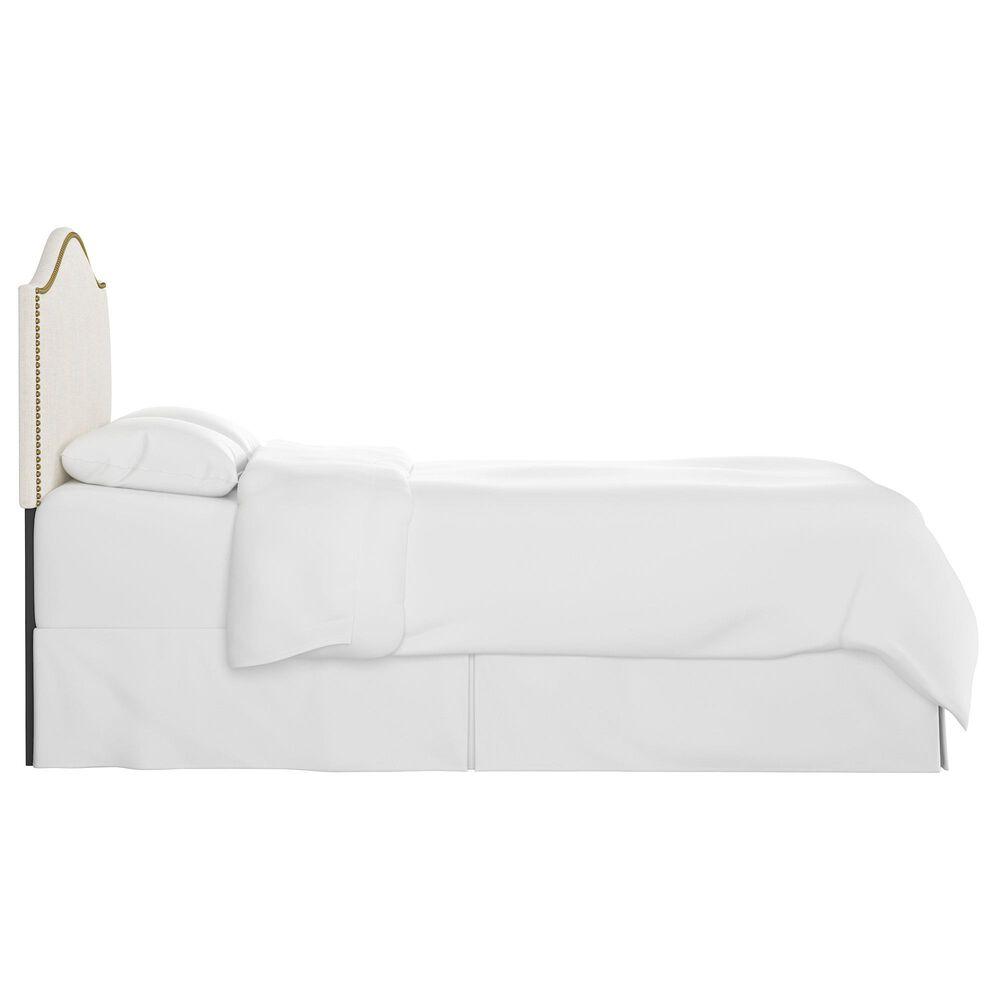 Skyline Furniture Queen Headboard in Linen Talc, , large