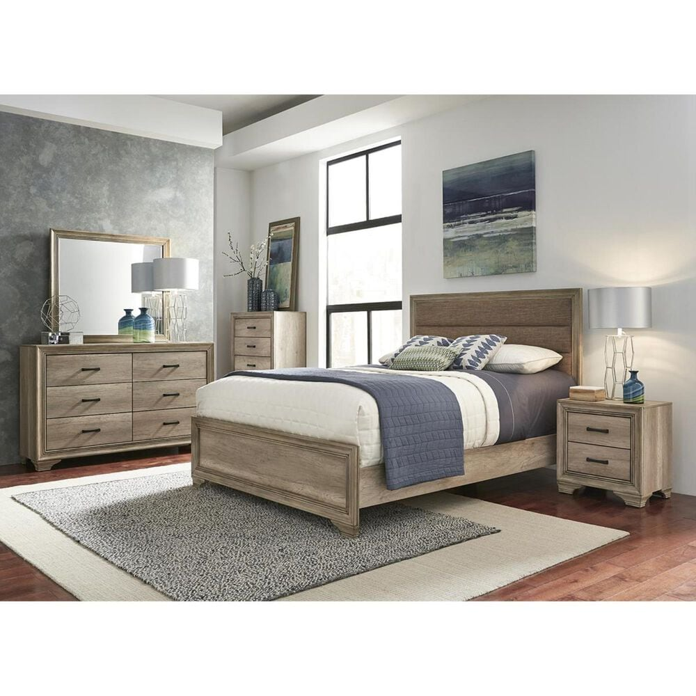 Belle Furnishings Sun Valley 5 Drawer Chest in Sandstone, , large