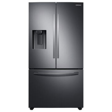 Samsung 27 Cu. Ft. French Door Refrigerator in Black Stainless Steel, , large