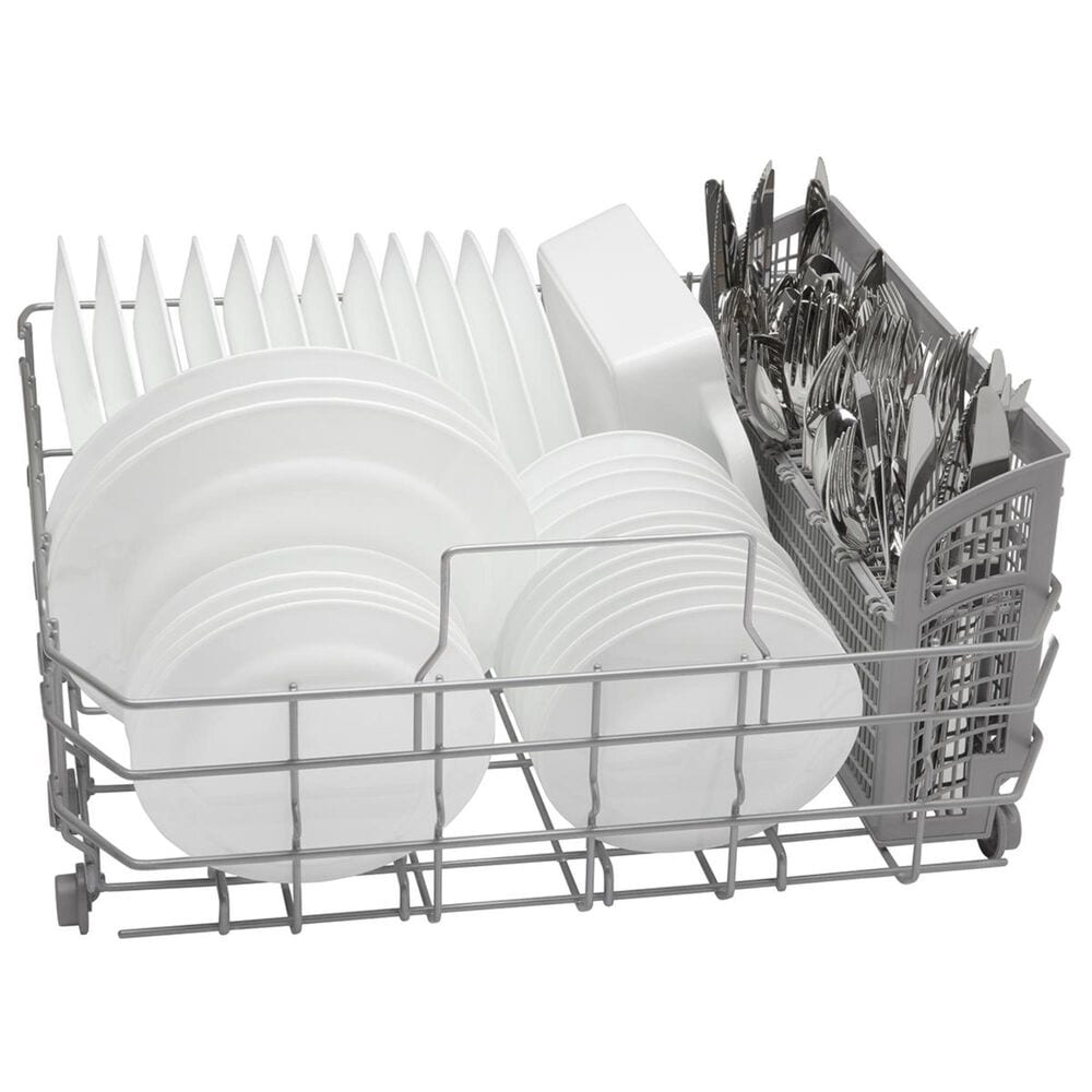 """Bosch Ascenta Series 24"""" Recessed Handle Built-In Dishwasher in Stainless Steel , Stainless Steel, large"""