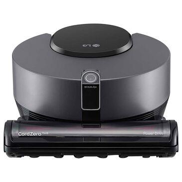 LG CordZero ThinQ Robotic Vacuum in Matte Grey, , large