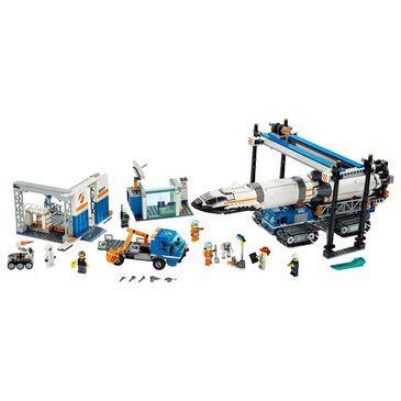 LEGO City Rocket Assembly and Transport Building Set, , large