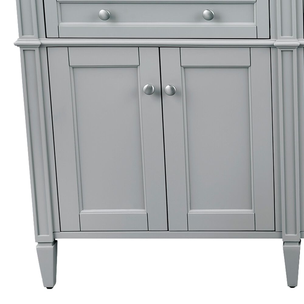 """James Martin Brittany 72"""" Double Bathroom Vanity Cabinet in Urban Gray, , large"""