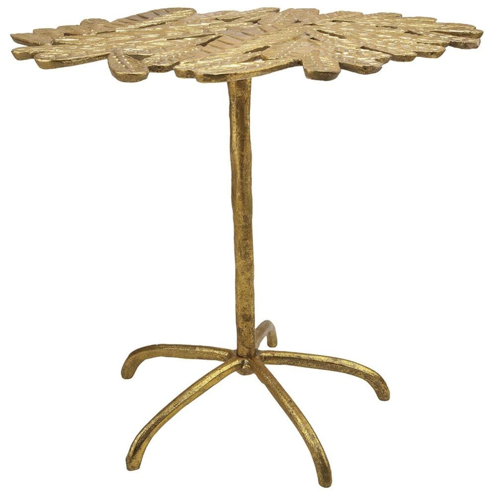 Tov Furniture Freesia Side Table in Gold, , large