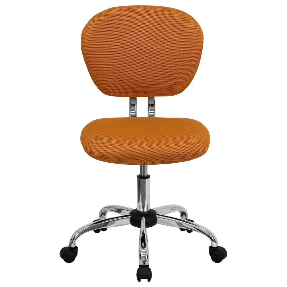 Flash Furniture Swivel Task Chair in Orange, , large