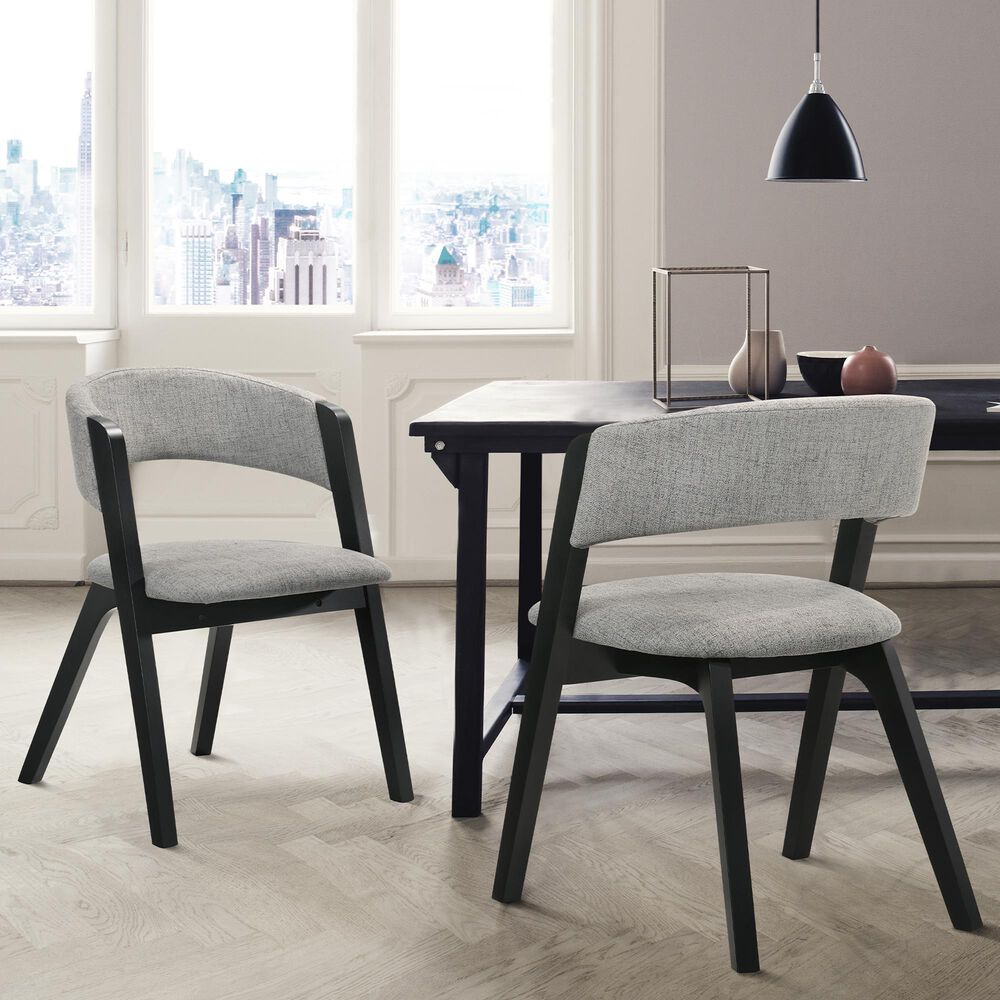 Blue River Rowan Dining Chair in Black (Set of 2), , large