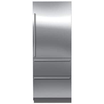 """Sub Zero 30"""" Integrated All-Refrigerator with Spill-Proof Glass Shelves (Right-Hinge), , large"""