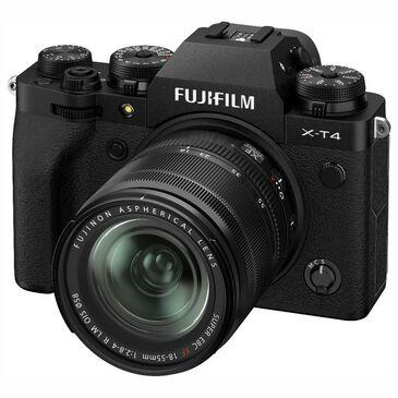 Fujifilm X-T4 Mirrorless Digital Camera with XF18-55mm F2.8-4 R LM OIS Lens in Black, , large