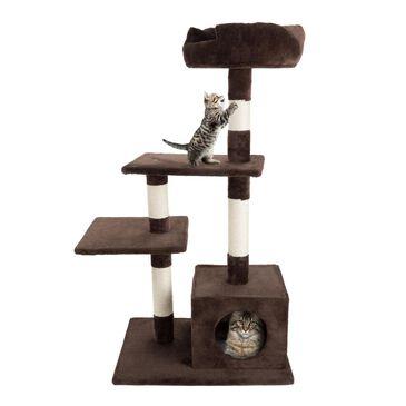 Timberlake Petmaker 4 Tier Cat Tree Penthouse, , large