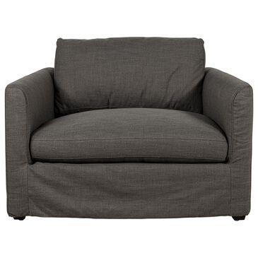 Interlochen Slip Cover Chair in Smoke Gray, , large