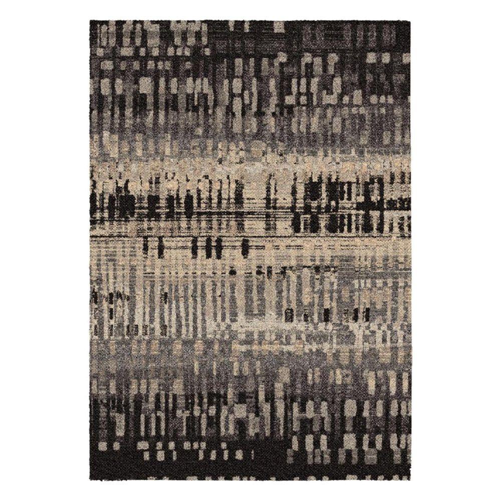 Orian Metropolitan City Drizzle 1673 9' x 13' Slate Area Rug, , large