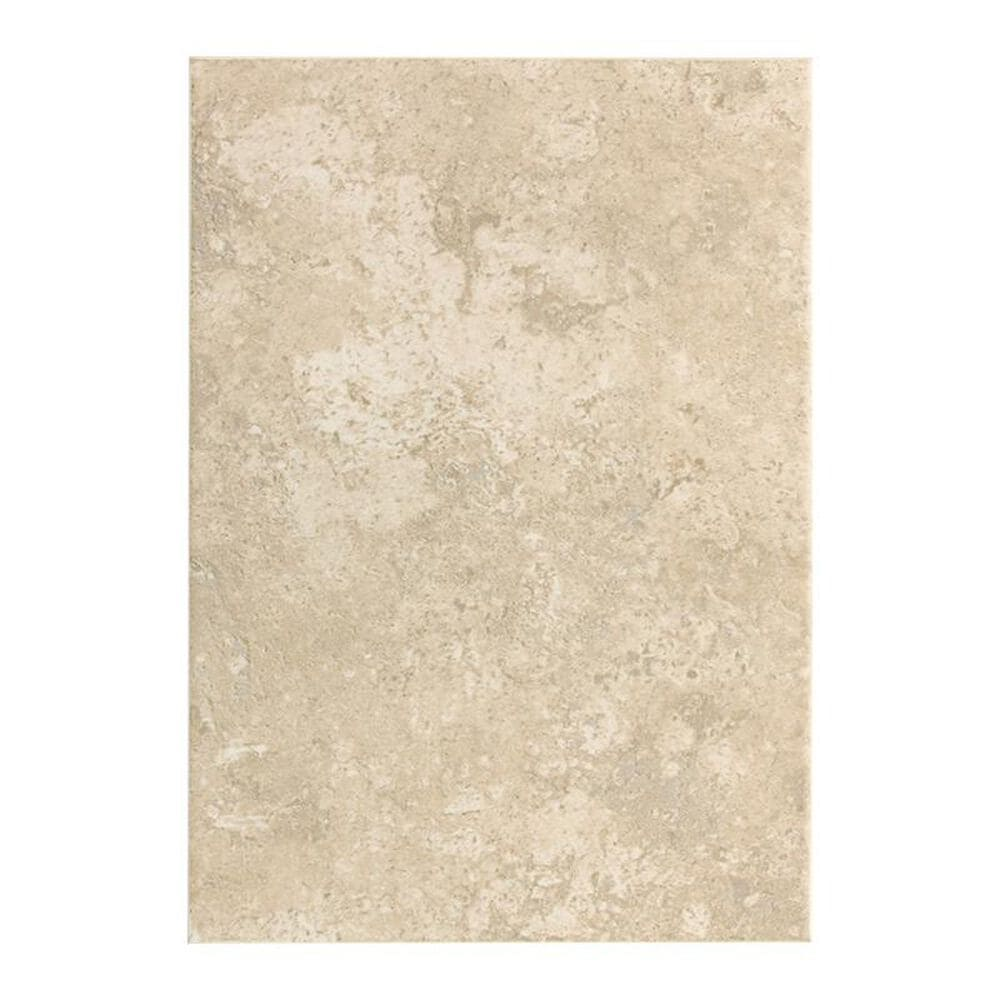 """Dal-Tile Stratford Place 14"""" x 10"""" Ceramic Field Tile in Alabaster Sands, , large"""