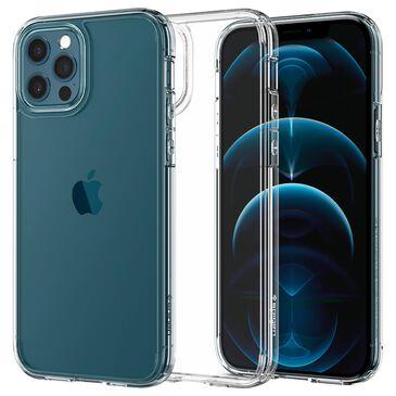 Spigen Crystal Hybrid Case For Apple iPhone 12 / 12 Pro in Crystal Clear, , large