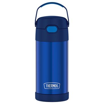 Thermos Funtainer 12 Oz Water Bottle in Navy, , large
