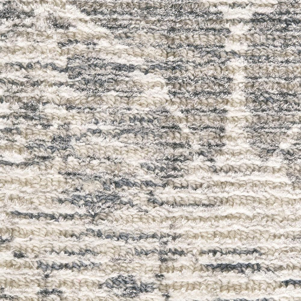 Feizy Rugs Reagan 8685F 5' x 8' Gray Area Rug, , large