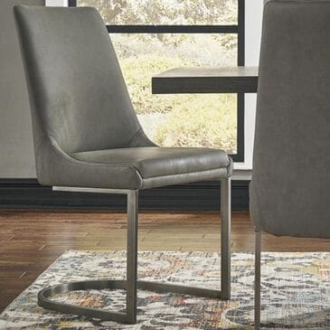 Urban Home Oxford Dining Chair in Basalt Grey, , large