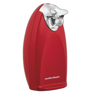 Hamilton Beach Can Opener Extra Tall Red, , large