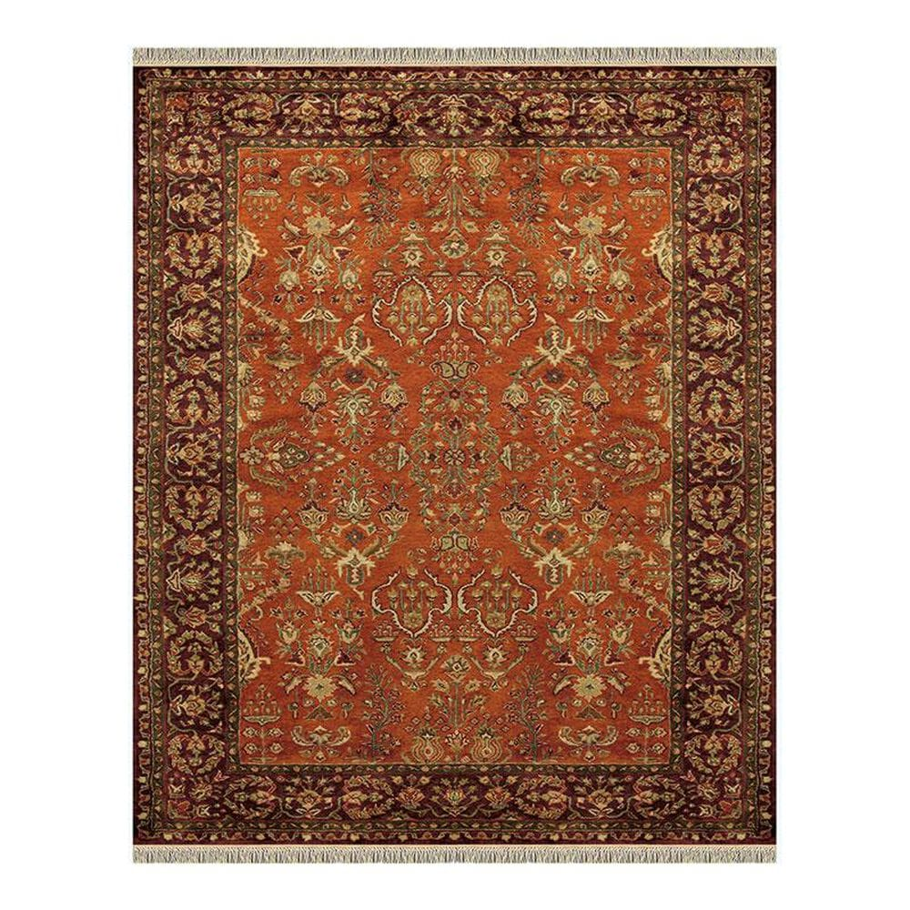 Feizy Rugs Amore 8327F 8' x 11' Cinnamon/Plum Area Rug, , large