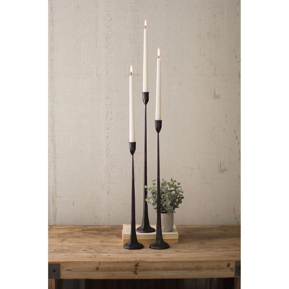 Kalalou Tall Candleholders in Cast Iron (Set of 3), , large