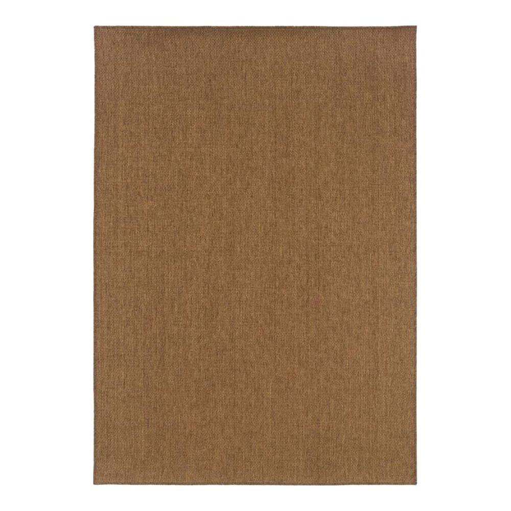 """Oriental Weavers Karavia 2061N 6'7"""" x 9'6"""" Brown Outdoor Area Rug, , large"""