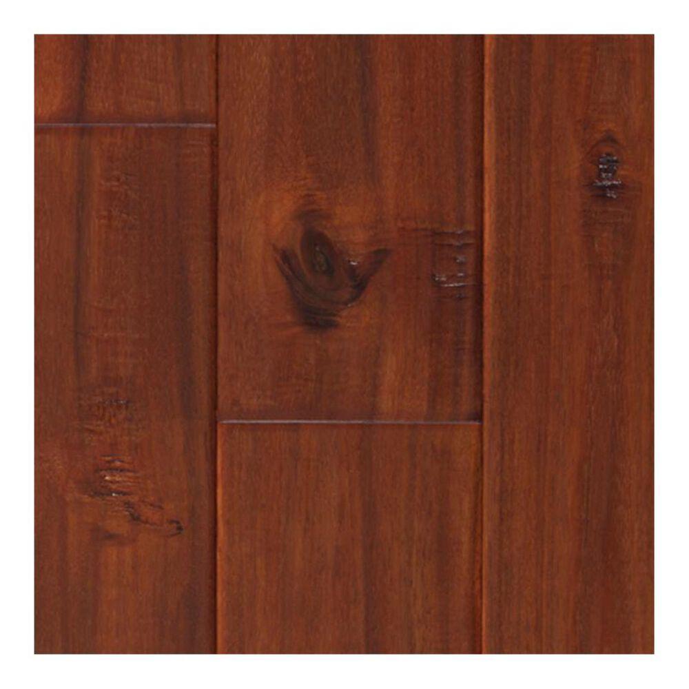 Elegance Exotic Wood Exotic Mahogany Acacia Hand Scraped Hardwood, , large