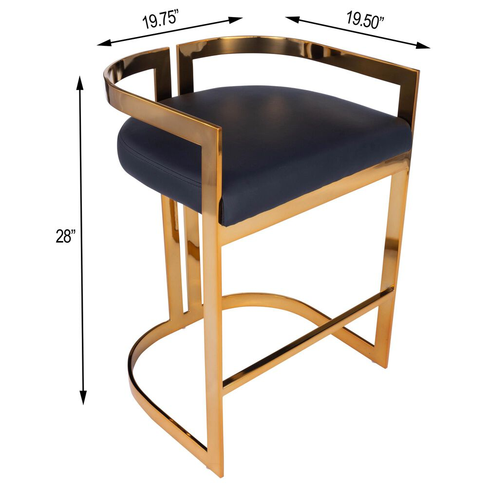 Butler Clarence Counter Stool in Black, , large