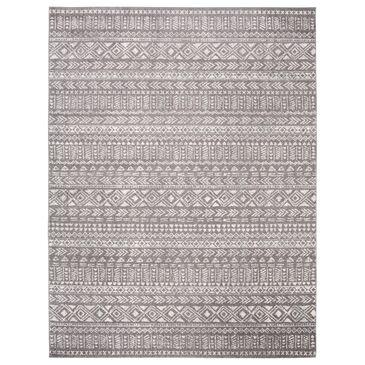 "Safavieh Tulum Transitional  8"" x 10"" Dark Grey Area Rug, , large"