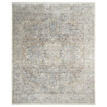 """Nourison Starry Nights STN02 8"""" x 10"""" Cream and Grey Area Rug, , large"""