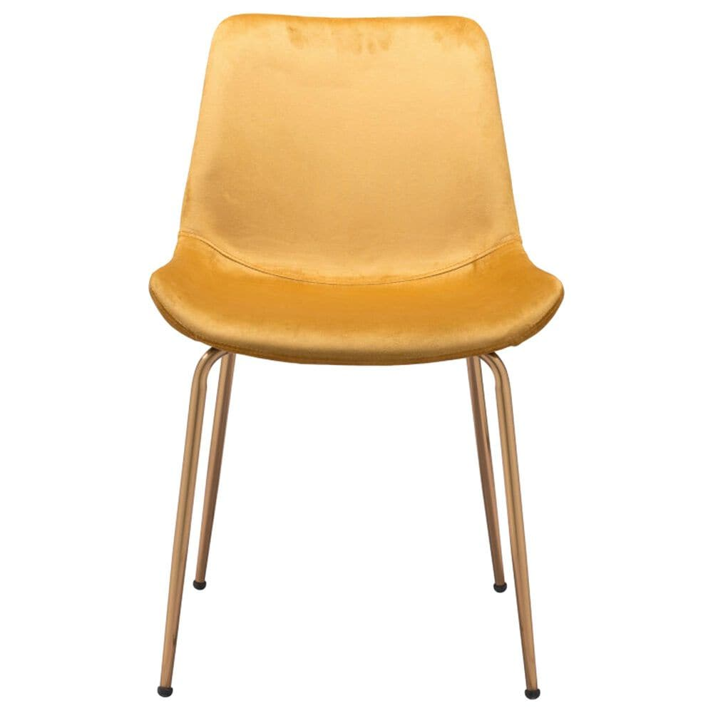 Zuo Modern Tony Dining Chair in Yellow, , large