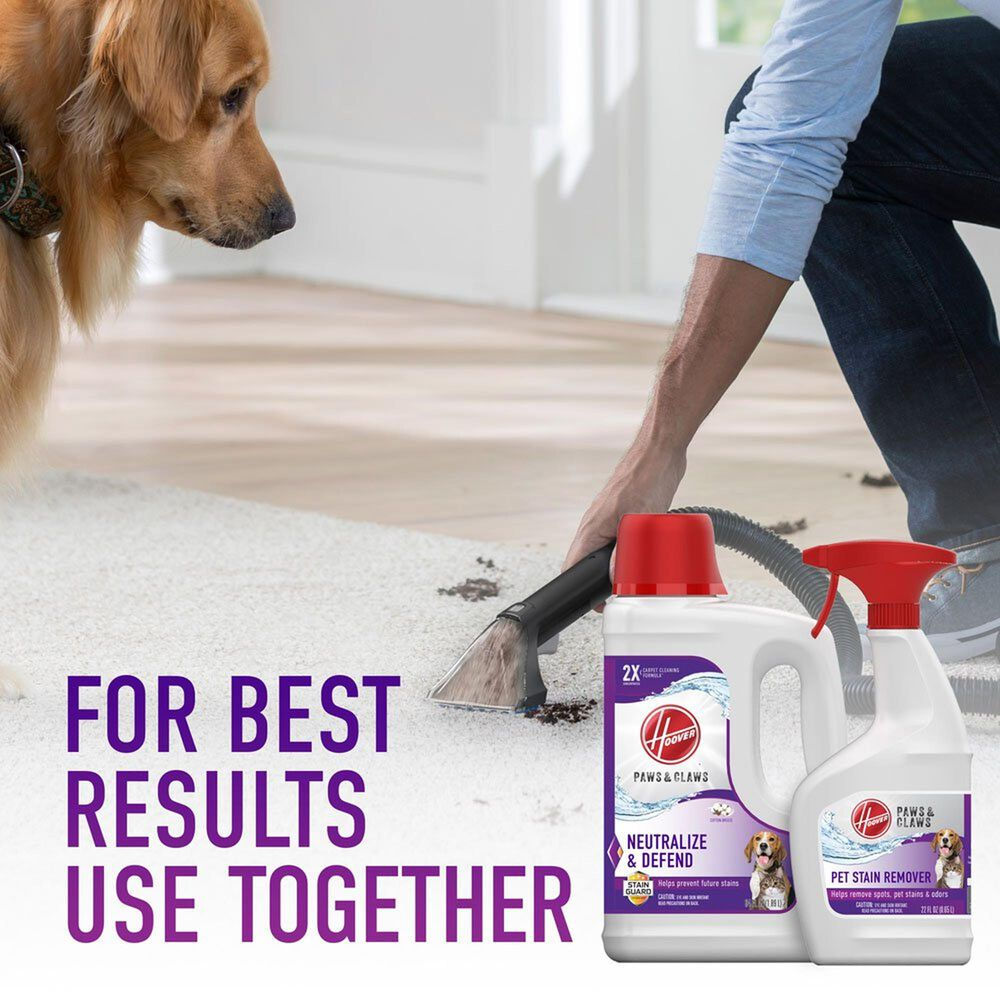 Hoover Paws and Claws Stain Remover 22 Oz, , large