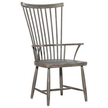 Hooker Furniture Alfresco Windsor Arm Chair in Gray, , large