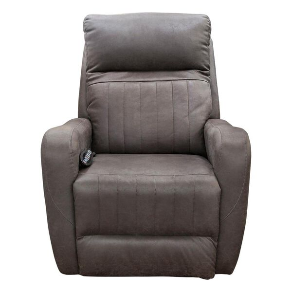 Southern Motion Socozi Power Rocker Recliner with Power Headrest in Graphite